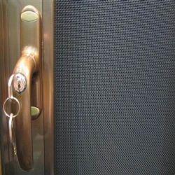 Pantalla de la red a prueba de balas/Seguridad/pantalla de cristal Cortinas de puerta de acero inoxidable