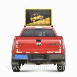 19m 12V 프로그램 차량 차 통신 통화량은 트럭 설치 위원회 미끄럼 태양 발광 다이오드 표시를 난입한다