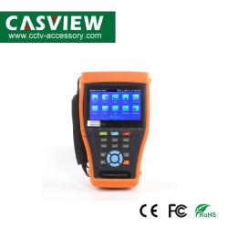 Probador de la cámara IP H. 265 4K de 8MP Tvi Cvi Ahd SDI CVBS Comprobador CCTV IP Monitor