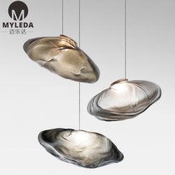 Handgemachte dekorative LED hängende Lampe des Kristallglas-