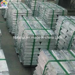Lingote de zinc de alta pureza, el Zinc puro lingote, chatarra de fundición de aleación de zinc