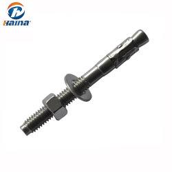 Нержавеющая сталь клин Anchor/через болт/расширительный болт для бетонные стены