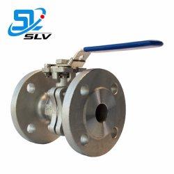 precio de fábrica de acero inoxidable SS Manual Válvula de bola flotante con asa para el agua de gas de petróleo