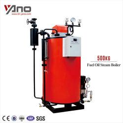 Para la galvanoplastia la placa de metal aceite diesel/Gas Natural Caldera de 500 litros de fuego