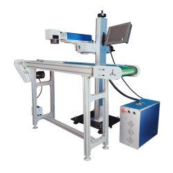 La Chine fabrication haute vitesse de gros 10W 30W 60W 100W voler en ligne de machine de marquage au laser CO2/service