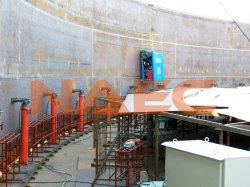معدات رفع الرافعة الهيدروليكية ذات لحام الخزان التلقائي