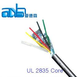 Низкое напряжение UL2835 консервированных оплетка с экранированный гибкий кабель