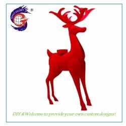 Fortuna Fortune Casa Deer Candlestick Posizionamento Artigianato Metallo Moda Abstract Ornamenti Animali