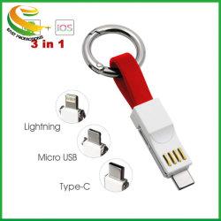 1多重充満ケーブルマイクロUSBのコネクター(ABS+TPE)の3