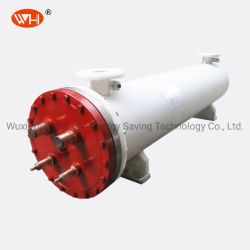116kw 티타늄 열 교환기 셸 및 튜브 유형 증발기 냉각기
