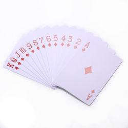 La mazza personalizzata del PVC di stampa delle schede di gioco del casinò carda le piattaforme del gioco di scheda le schede di gioco che del regalo di promozione personalizzano