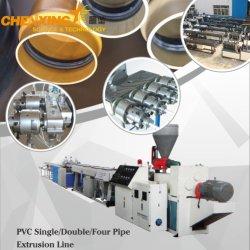 Автоматический дренаж пластиковые поливинилхлоридная труба подачи воды экструзии производственной линии