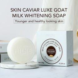 De natuurlijke Geit die van de Melk van Face&Bath van Babys Met de hand gemaakte Zeep witten