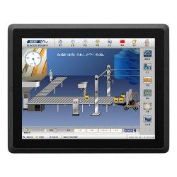 スマートな産業用パネル PC 3558U i3 i5 i7 静電容量型または 抵抗膜方式のタッチスクリーンファンレスミニ 10 インチ高耐久タブレット PC 産業用