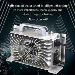 شاحن بطارية بقوة 900 واط بقدرة 48 فولت 15A للسيارات الكهربائية ذات العجلات الأربع / عربة جولف كهربائية / حافلة لمشاهدة المعالم