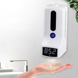 De Muur van de Thermometer van de Meting van de temperatuur zet de Automaat van de Zeep van de Was van de Hand op