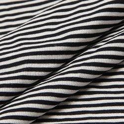 Tencel Tejido de algodón tejido Spandex Lycra para damas vestido de rayas
