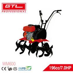 7HP 4 Temps d'entraînement de courroie de l'essence agricole / Jardin d'alimentation essence talles cultivateur Rotavator / timon (WM600)