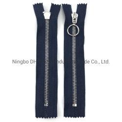 N˚ 5 zíper de metal Closed-End Auto Lock para o vestuário e calçado sacos/