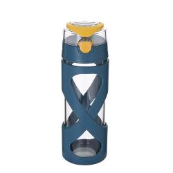 Портативный горячая продажа Amazon BPA бесплатной школьной стеклянная бутылка воды