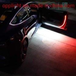 Плафон освещения салона Opplight газа 12V 47дюйма 144 ПК работает под руководством Совета белый свет фонарь двери полосы красного цвета мигает сигнальная лампа мигает
