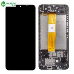 삼성 갤럭시 A12 A125 A125f용 도매 LCD 터치 스크린 A125f/DS+ 프레임