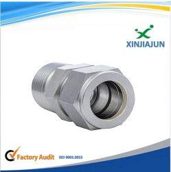 Connettori pneumatici lavoranti di precisione del metallo di CNC/adattatori idraulici/accoppiatori rapidi