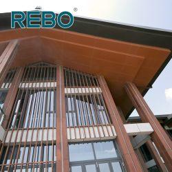 Panneau de paroi de charbon de bois extérieur bon marché des matériaux de construction Mur d'évitement de bambou
