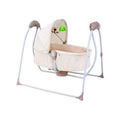 سرير الأطفال سرير الأطفال سرير الأطفال الرضع سرير ضرب الأطفال سرير ضرب الكرة طفل محمول سرير أرجوحة للأطفال مريح كهربائيًا