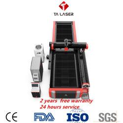 2020年の中国の工場2000W CNCレーザーのカッターのファイバーまたはシート・メタルの炭素鋼のステンレス鋼の切断のための二酸化炭素レーザーの切断か彫版機械