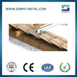 Заводская настройка миниатюры солнечной энергии на крышу систем/установка модулей
