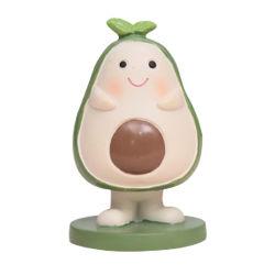 Resina Avocado frutta Lovely Doll cute Home Cartoon Figure decorazione