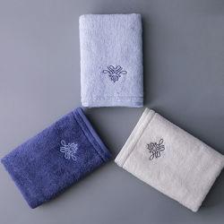Gefärbte Farben-Terry-Baumwollhandtücher 100% für Geschenk