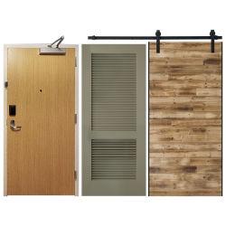 환대를 위한 인기 있는 문, 호텔 솔리드 우드 화재 등급 문, 호텔 반 문, STC 코어 객실 입구 문, 루브르 문