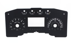 Used Cars를 위한 Screen Printing Auto Meter Dial와 Car Dashboard Faceplate Dial Fe MD005