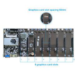 전문가용 컴퓨터 부품 Riserless Expert Bitcoin Miner 메인보드 8개의 PCIe 슬롯 GPU Ethereum Mining 마더보드