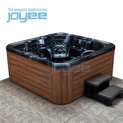 Joyee 4 6 pessoa livre de pé Hydro Sexo EUA Hidromassagem Massagem Banheiro / banheira jacuzzi preços função piscina spa banheira de hidromassagem