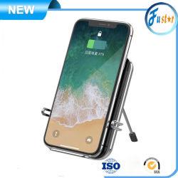 보편적인 휴대용 전화 Qi 5V 1A 5W는 책임 탁상용 소형 무선 충전기 접합기를 비용을 부과하는 USB 단식한다