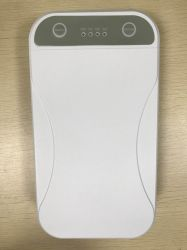 Inalámbrico Portátil Caja de esterilización ultravioleta Higienizador por rayos UV Cuadro de desinfección de las necesidades diarias de protección antivirus Filtro Celular Esterilizador de Verificación de aromaterapia