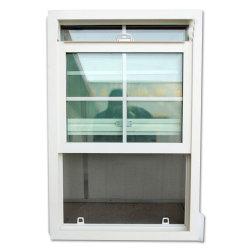 Best Seliing padrão dos EUA contra o pó de PVC janelas de vidro