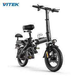 14 bicicletta elettrica piegante veloce della bici del motore 48V 250W 7.8ah 25km/H Ebike di pollice con la sede posteriore