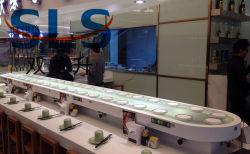 Restaurant Sushi automatique de courroie du convoyeur Livre de la nourriture