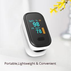 Marcação FDA Saída certificado digital a cores dedo oxímetro de pulso ecrã OLED Exibir dispositivos oxímetro