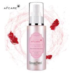 Etiqueta Privada Orgânicos Personalizado Rosewater Marroquino Face Hidratante Névoa de refrigeração pulverizar água Rose hidratante facial de Spray de Toner