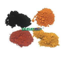 Anorganisches Pigment-Eisen-Oxid-Fußboden-Puder-Eisen-Oxid-Gelb-Pigment-Eisen-Oxid-Pigment für die Pflasterung des Ziegelsteines