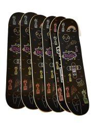 Comercio al por mayor de arce canadiense personalizado Skateboard