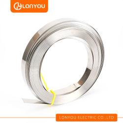 Bracelet de cerclage en acier inoxydable pour le regroupement de palettes, d'affiches et de tuyaux