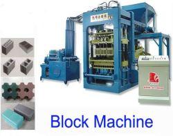 Het automatische Blok die van de Baksteen van de Machines van de Bouw Concrete Machine (QT6-15) maken