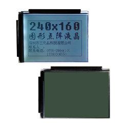 Modulo monocromatico dell'affissione a cristalli liquidi dell'interfaccia parallela FSTN 240X160 dello schermo di visualizzazione dell'affissione a cristalli liquidi di Pin di RoHS 20 Ra8835 8bit