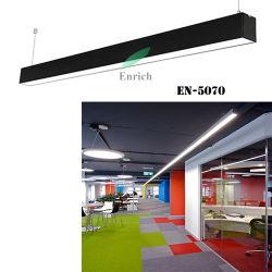 إضاءة المكتب الأنيقة من الألومنيوم مصابيح LED مصباح مدلاة LED خفيف خطي مصباح المكتب المعلق القابل للارتباطLinkable